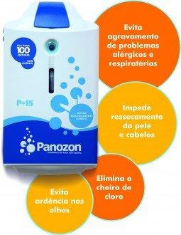 Equipamento Gerador de Ozônio Panozon 35 para Piscinas de 26 Até 35 Mil Litros