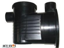 Carcaça com pré filtro / Corpo do Pré-Filtro da motobomba PF-17 C Dancor de 1/4 cv até 1cv