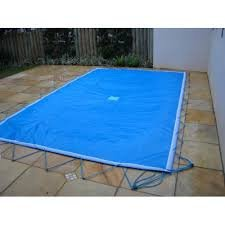 Capa de proteção para piscinas 9,00 x 4,00 Lona Forte
