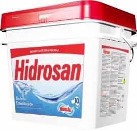Cloro Granulado para Piscinas Hidrosan 10 kg