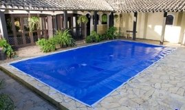 Capa de proteção para piscinas 7,00 X 3,50 Lona Forte .