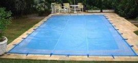 Capa 10,00 X 4,00 de proteção para piscinas em Tela.