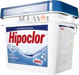 Cloro Granulado para piscinas Hipoclor 10 kg