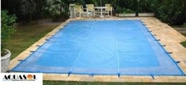 Capa 8,00 x 4,00 de proteção para piscinas em Tela