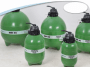 Filtro para Piscina de 76 Até 152 Mil Litros HMF-65