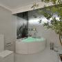 Banheira de Canto Kanto Zen Premium em Acrílico