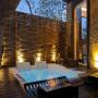 Banheira Retangular Dupla Premium Zen em Gel Coat