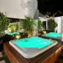 Spa Quadrado My Place Lounge 180 em Acrílico Hidroplus